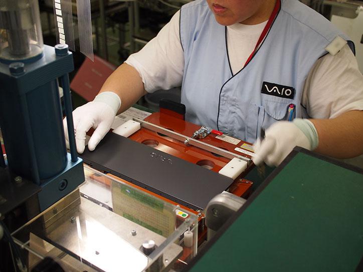 2in1ノートのフリップモデルの液晶ディスプレイを装着するパーツ