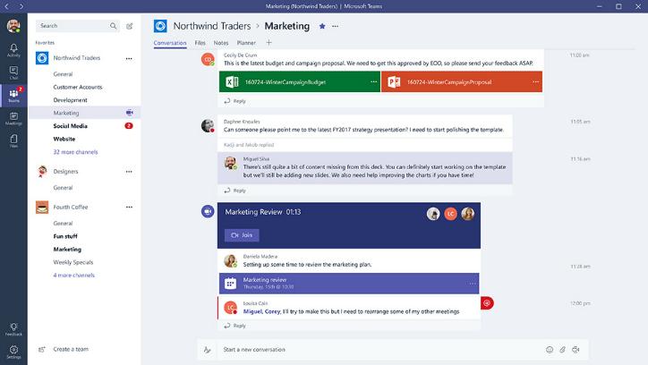 Office365に含まれる新ツール「Microsoft Teams」