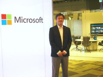 本マイクロソフト株式会社 コーポレートコミュニケーション本部 本部長 岡部 一志氏