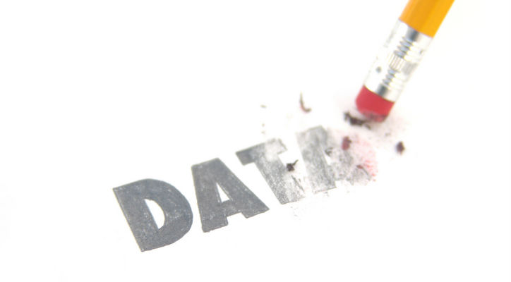 情報漏洩対策、データ消去